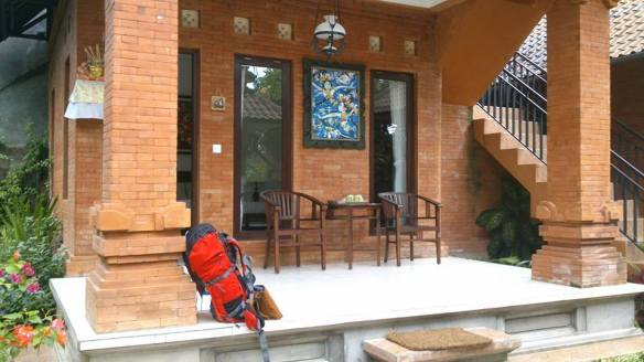 Our place in Ubud and it is USD15 for one night.