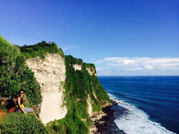 Uluwatu: I once shroomed here with JF. It is still the prettiest spot in Bali.