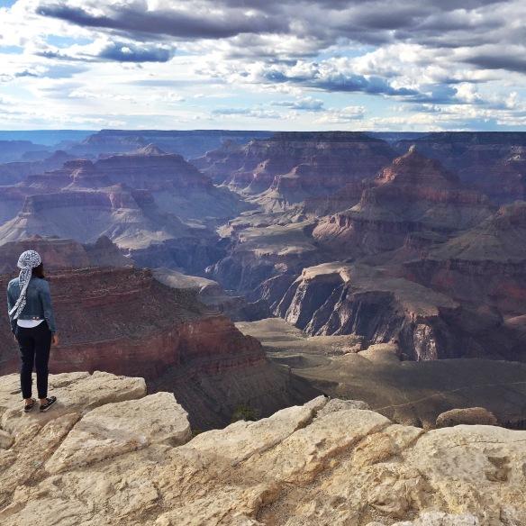 Gambar motivasi semasa mohon visa! Siapa yang tak nak tengok Grand Canyon ni?