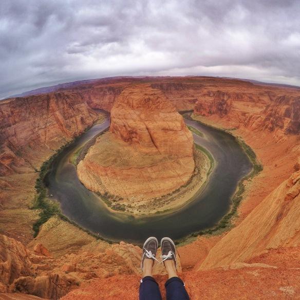 Horseshoe Bend ini menanti anda di Utah, USA!